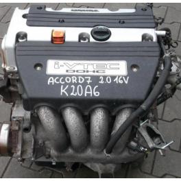 Moteur HONDA ACCORD 2.0 155 CV K20A6